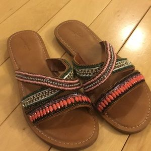 Colorful Rhinestone and Bejeweled Sandals